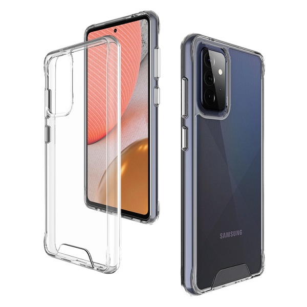Clear Slim Silicone Back Cover for Samsung Galaxy A72 5G (2mm)
