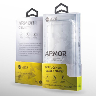 Clear ROAR Armor Gel Back Cover for iPhone 12 Pro Max