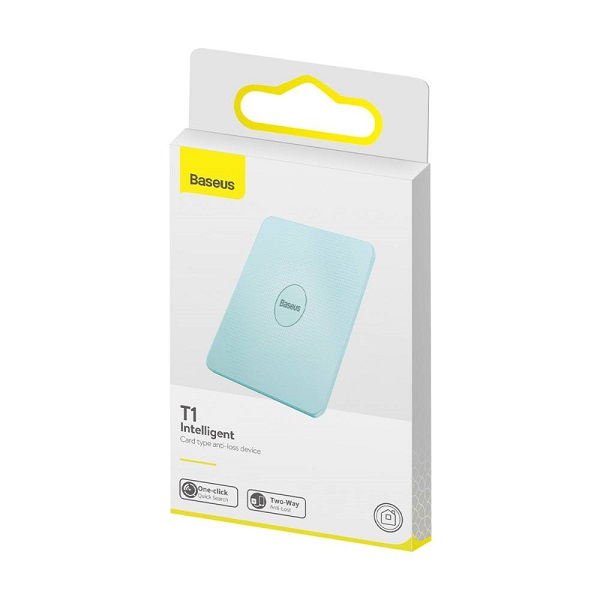 Baseus Home Intelligent T1 mini flat Cardtype Anti-loss Device Key locator Finder Blue