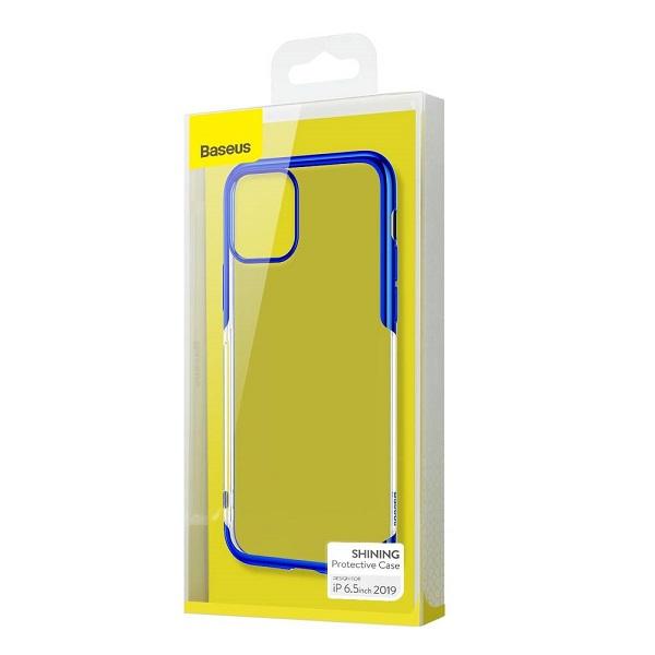Baseus iPhone 11 Pro Max Case Shining Blue