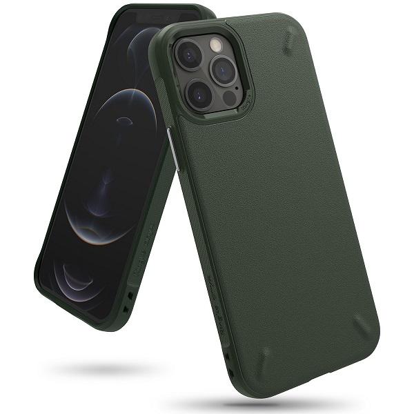 Ringke iPhone 12 /12 Pro Case Onyx Dark Green
