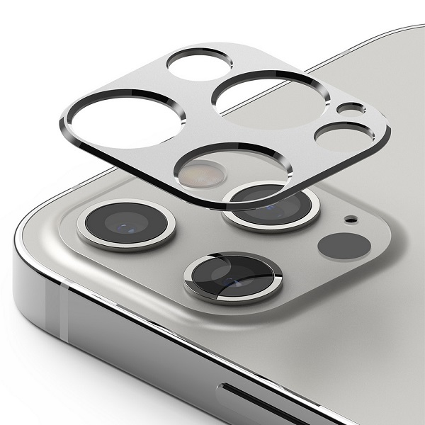 Ringke iPhone 12 Pro/12 Pro Max Camera Styling Camera Island Protector Silver
