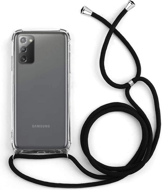 Back Cover Shockproof for Samsung Galaxy Note 20 Transparent