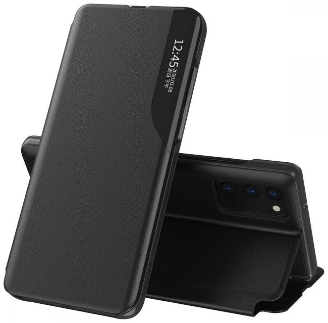 Black Flip Case Smart View for Samsung Galaxy A32 5G