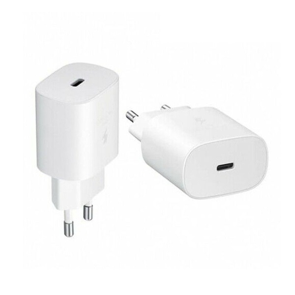 Super Fast Charger Type-C Samsung 25W EU Pin white OEM