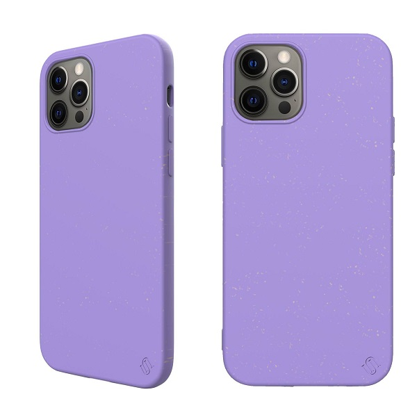 Silicone Back Case for Apple iPhone 12 Pro Max Purple