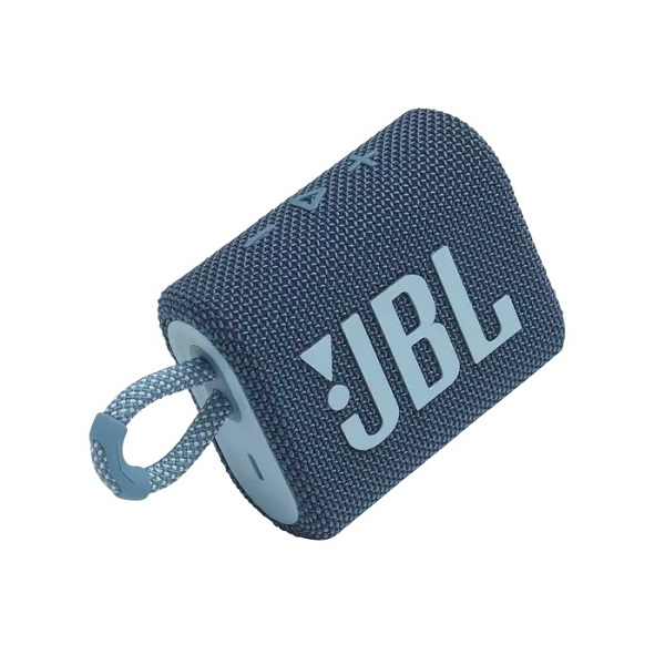 JBL GO 3 Blue Portable Bluetooth Speaker