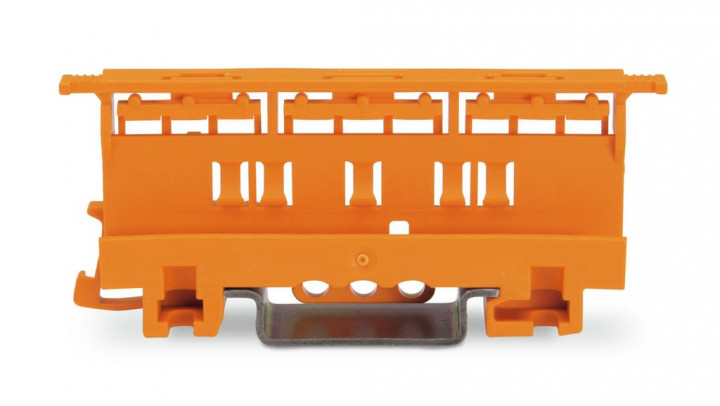 Mounting carrier for 221 Series - 4mm², orange - 5Pcs