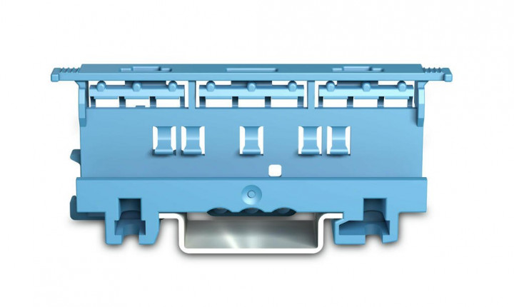 Mounting carrier for 221 Series - 4 mm², blue - 5Pcs