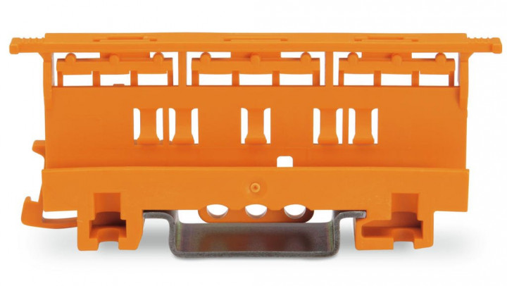 Mounting carrier for 221 Series - 6mm², orange  - 5Pcs