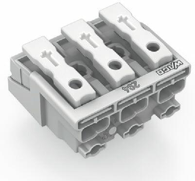 Lighting Connector, 3-pole, white - 25Pcs