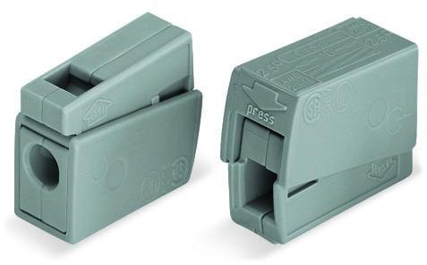 1-C Lighting Connector, grey - 25Pcs