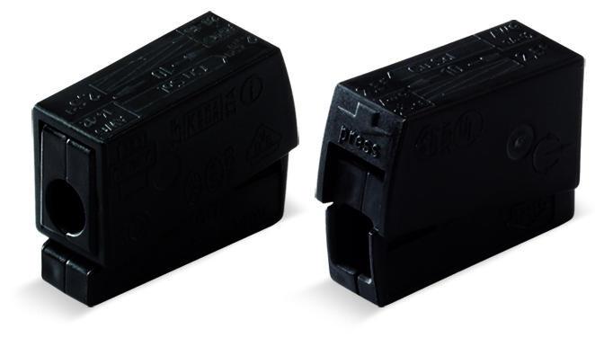 1-C Lighting Connector, black - 25Pcs