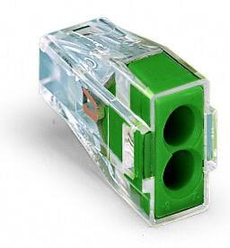 2-C Connector, green - 25Pcs