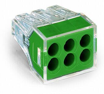 6-C Connector, green - 25Pcs