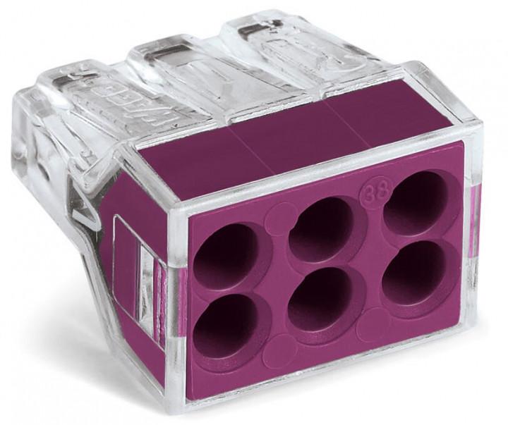 6-C Connector, purple - 25Pcs