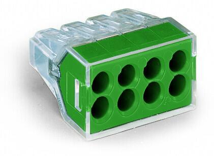 8-C Connector, green - 25Pcs