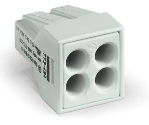 4-C Connector, light grey - 25Pcs