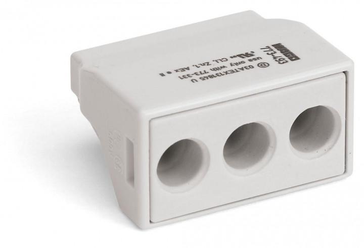 3-C Connector, light grey - 25Pcs