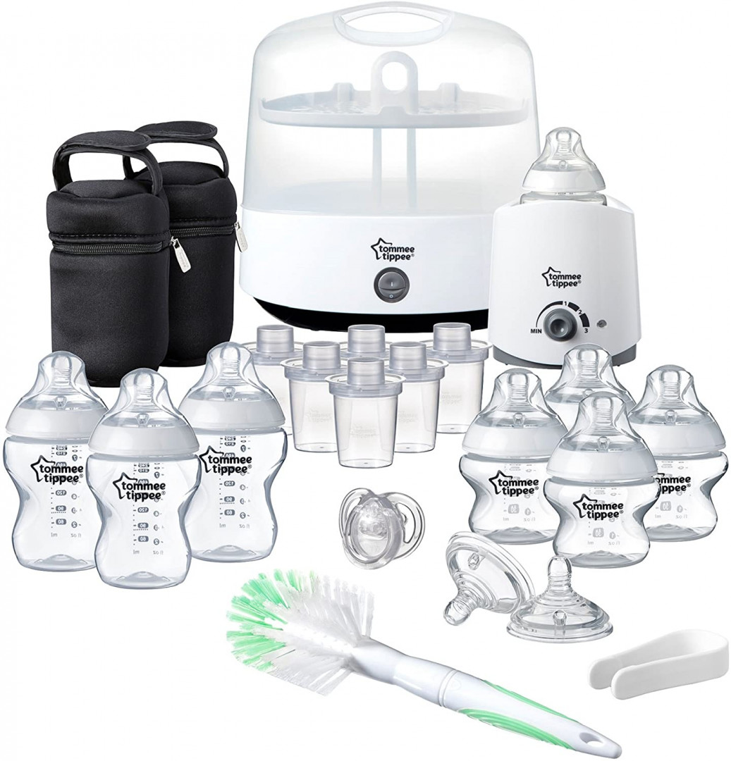 Tommee Tippee CTN Complete Feeding Set White