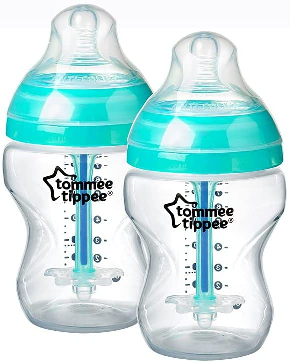 Tommee Tippee 260ML x 2 Anti-colic bottles