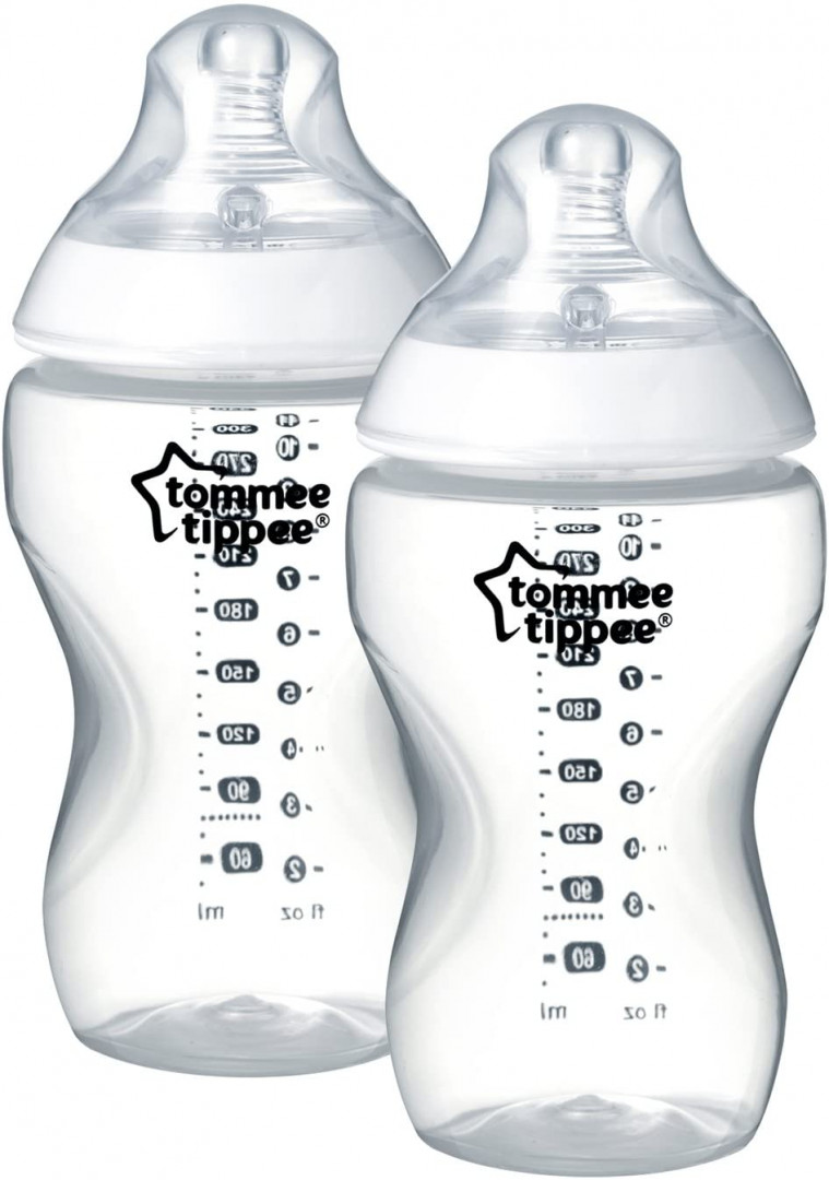 Tommee Tippee 340ML PP Bottle x 2