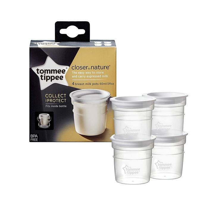 Tommee Tippee CTN Milk Storage Pots