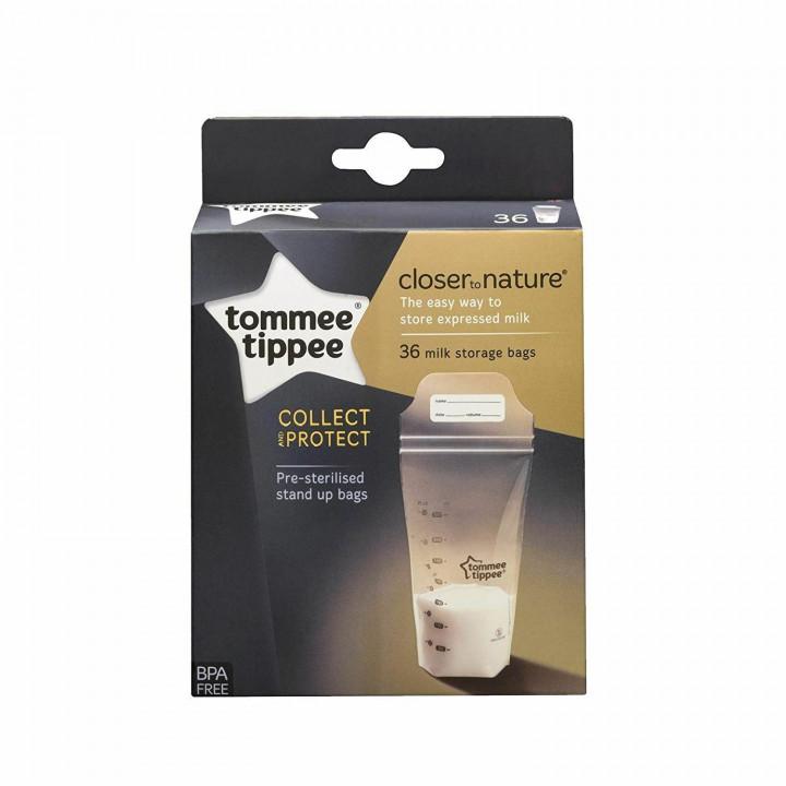 Tommee Tippee CTN Milk Storage Bags x 36