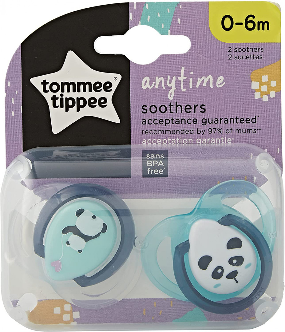 Tommee Tippee CTN  0-6M   Anytime x 2