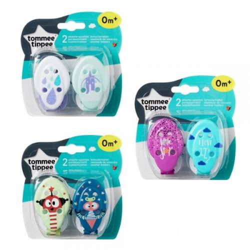 Tommee Tippee Soother Holder x 2