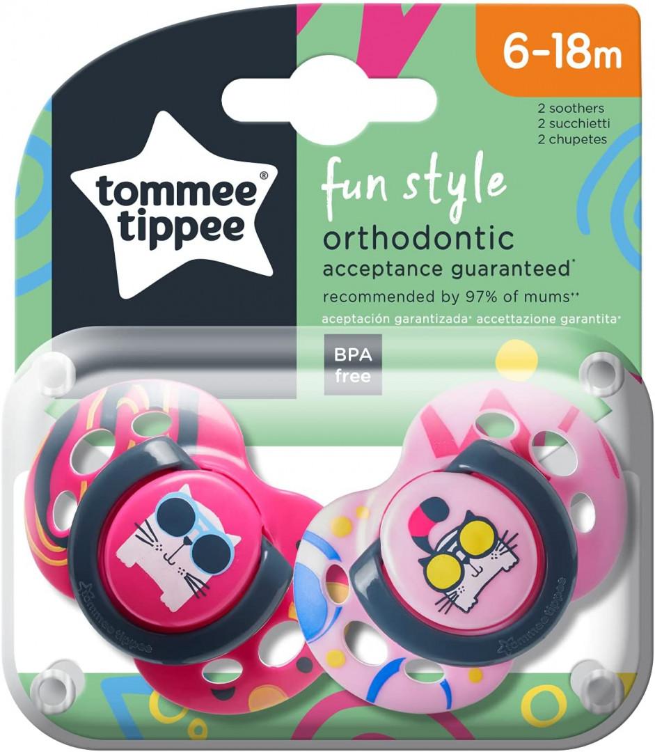 Tommee Tippee CTN  6-18M  Fun x 2