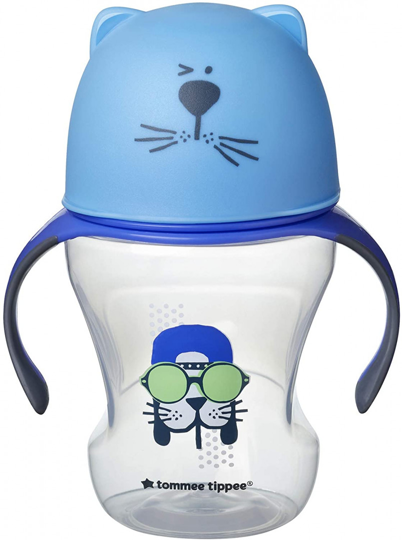 Tommee Tippee SOFT SIPPEE CUP BLEU 230ML 6M+