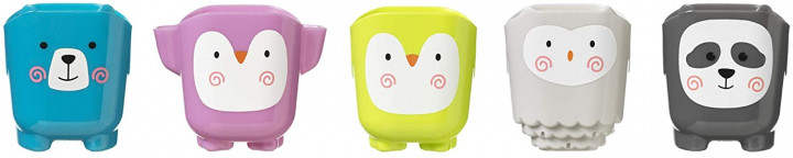 Tommee Tippee SPLASHTIME 5 STACKING CUPS