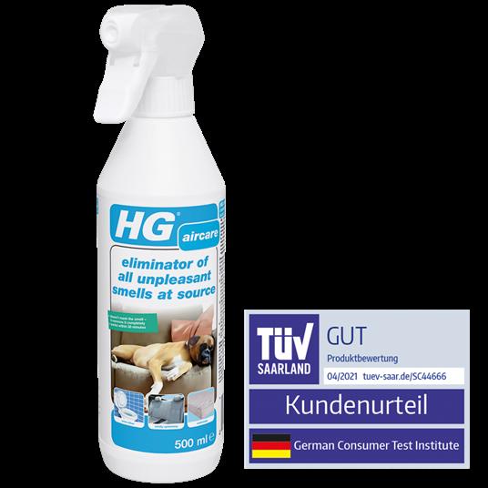 HG Eliminator for all unpleasant smells at source