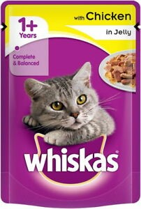 WHISKAS CAT FOOD WITH CHICKEN 100G