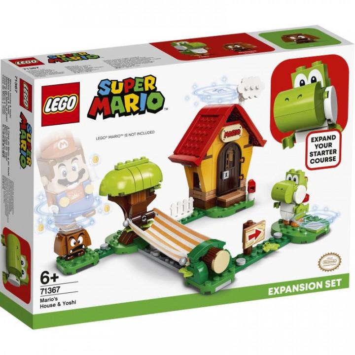 LEGO® Super Mario: Mario's House & Yoshi Expansion Set