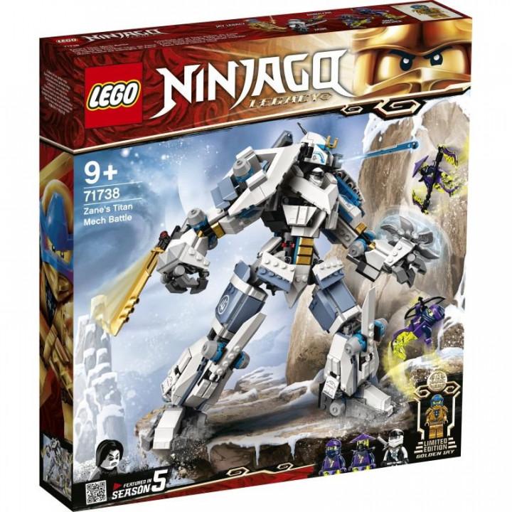 LEGO® Ninjago: Zane's Titan Mech Battle
