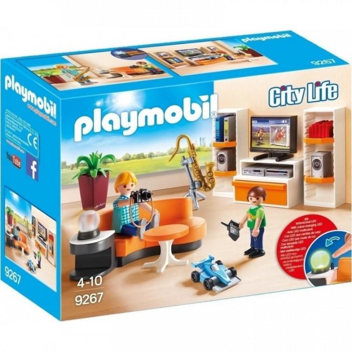 Playmobil City Life - Living Room