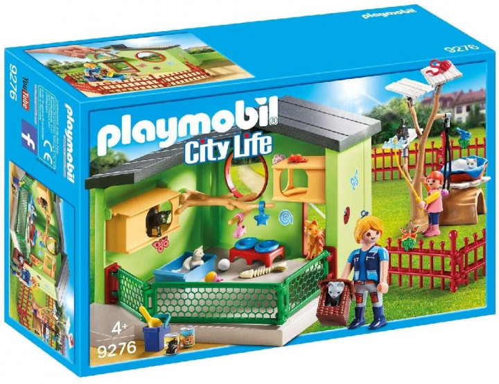 Playmobil Purrfect Stay Cat Board