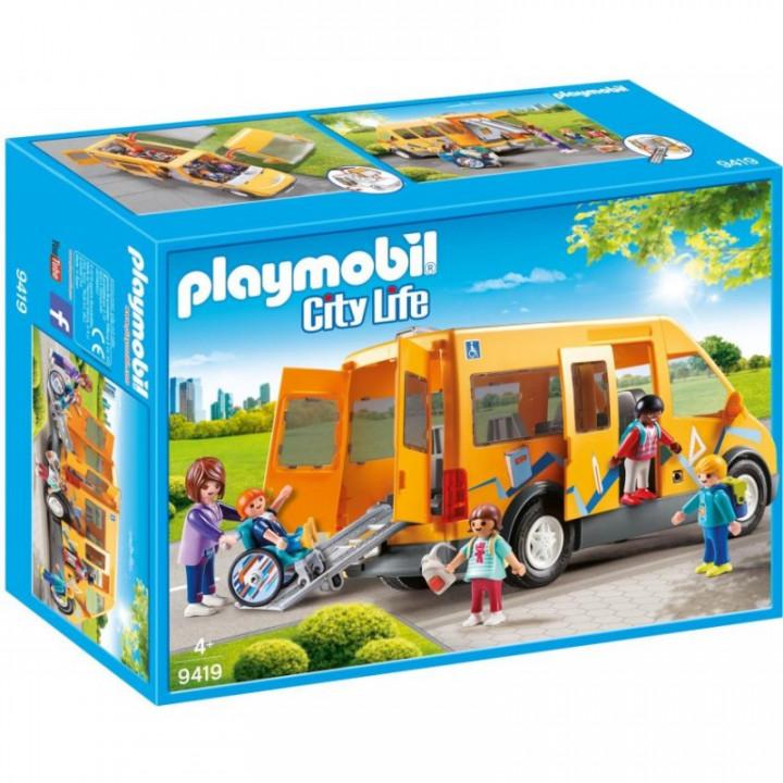 Playmobil City Life - School Van