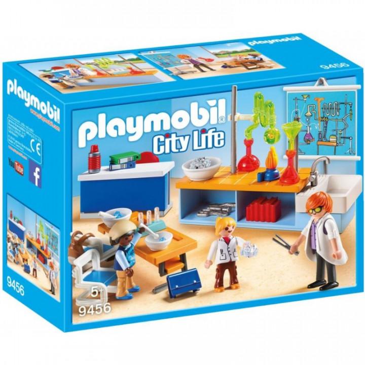 Playmobil City Life - Chemistry Class