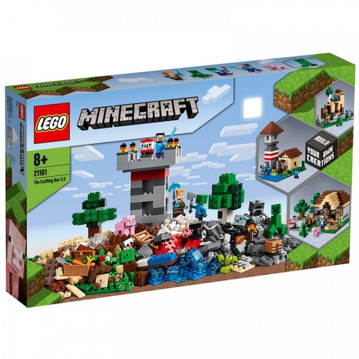 LEGO® Minecraft: The Crafting Box 3.0