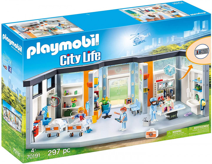 Playmobil City Life Furnished Hospital Wing