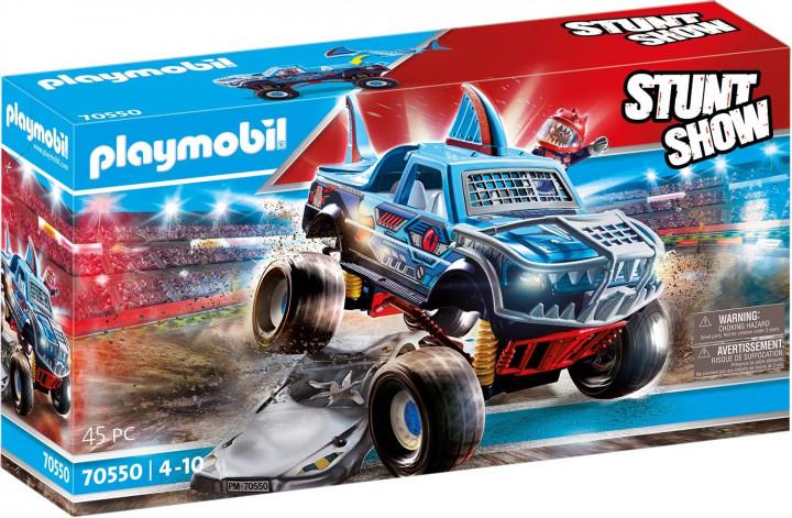 Playmobil Stunt Show Shark Monster Truck
