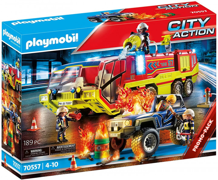 Playmobil City Action Fire Engine with Truck