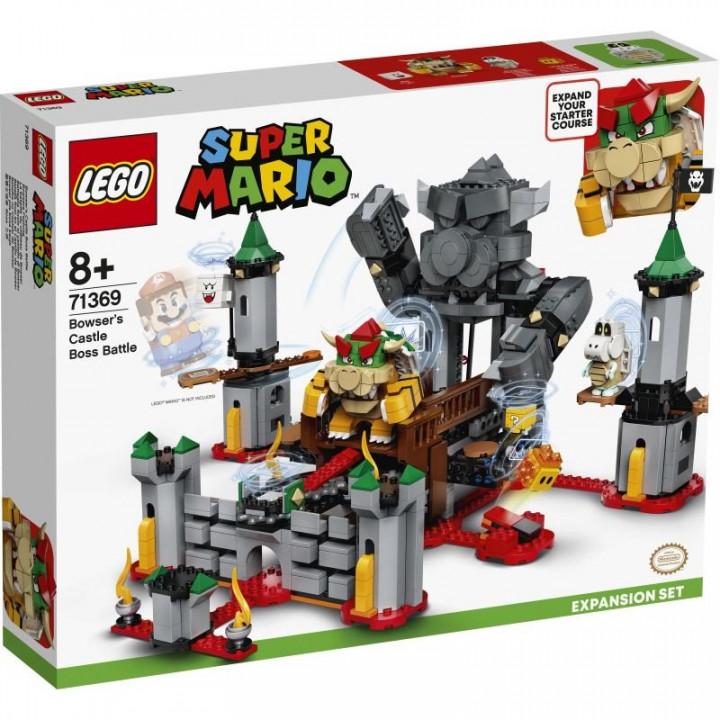 LEGO® Super Mario: Bowsers Castle Boss Battle Expansion Set