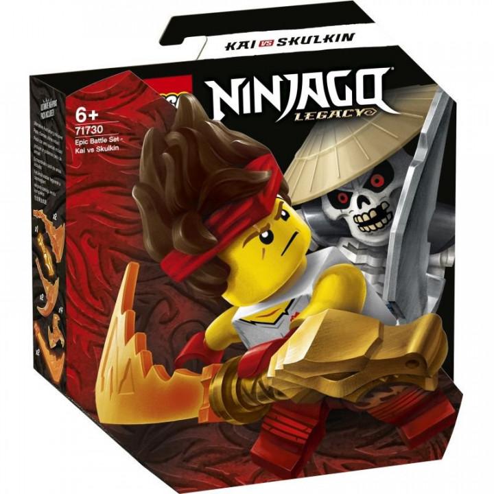 LEGO® Ninjago: Epic Battle Set - Kai vs Skulkin
