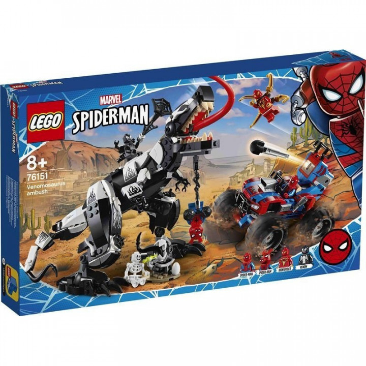LEGO® Super Heroes: Venomosaurus Ambush