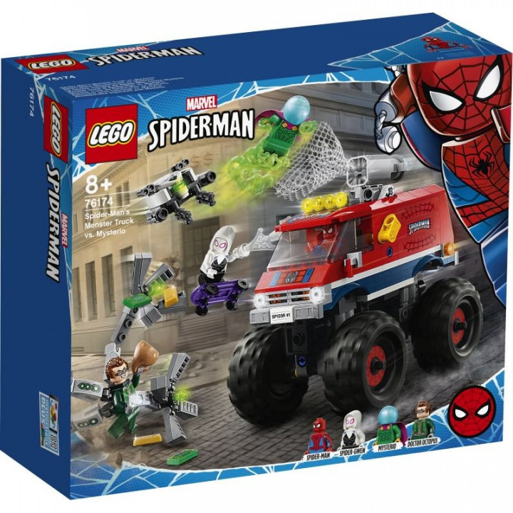 LEGO® Super Heroes: Marvel Spider-Man's Monster Truck vs Mysterio
