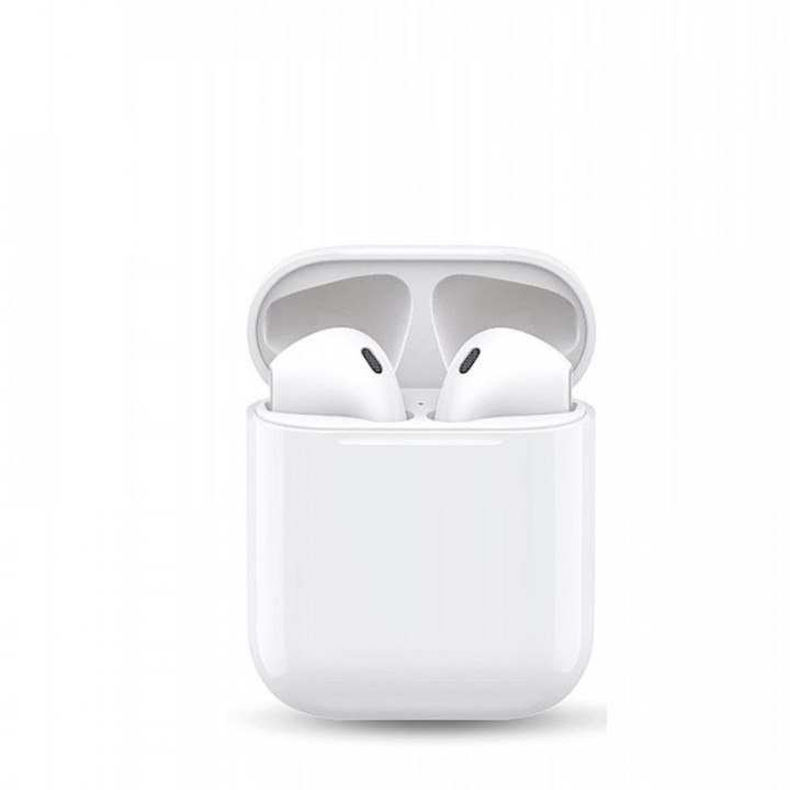 XO F60 Plus TWS Airpods Bluetooth 5.0 Stereo Headset with Microphone Analogue White